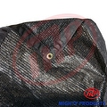 8' x 20' - MP 50% shade cloth, shade fabric, sun shade, shade sail (black color) (MN-MS50-B0820) - Thumbnail 2